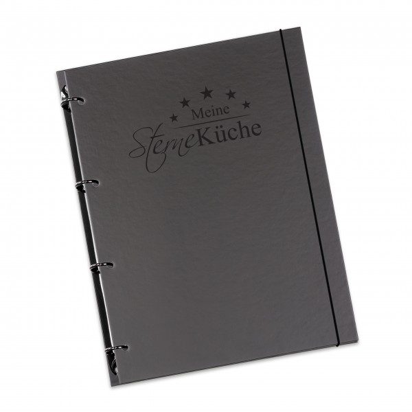 """flexiNotes® KOCHBUCH A5 """"Sterneküche"""""""